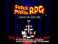Portada oficial de Super Mario RPG: Legend of the Seven Stars CV para Wii
