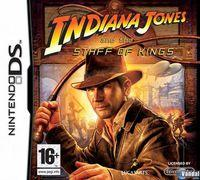 Portada oficial de Indiana Jones and the Staff of Kings para NDS