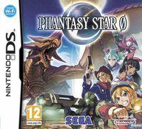 Portada oficial de Phantasy Star Zero para NDS