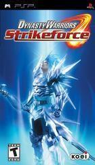 Portada oficial de Dynasty Warriors Strikeforce para PSP