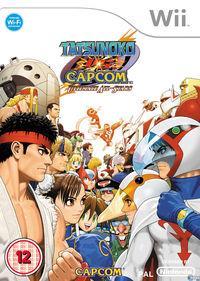 Portada oficial de Tatsunoko vs. Capcom: Ultimate All-Stars para Wii