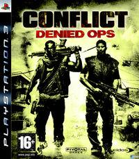Portada oficial de Crossfire para PS3
