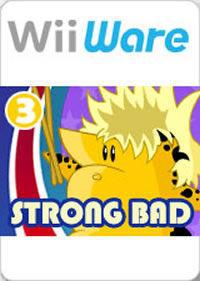 Portada oficial de Strong Bad's Cool Game for Attractive People - Episode 3 - Baddest of the Bands WiiW para Wii