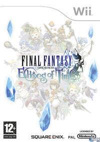 Portada oficial de Final Fantasy Crystal Chronicles: Echoes of Time para Wii