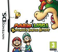 Portada oficial de Mario & Luigi: Viaje al Centro de Bowser para NDS