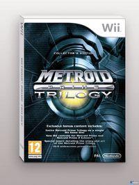 Portada oficial de Metroid Prime para Wii
