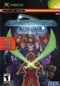 Portada oficial de Phantasy Star Online I & II para Xbox