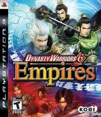 Portada oficial de Dynasty Warriors 6 Empires para PS3