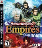 Portada oficial de Dynasty Warriors 6 Empires para PS3