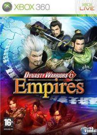 Portada oficial de Dynasty Warriors 6 Empires para Xbox 360