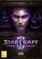 Portada oficial de StarCraft II: Heart of the Swarm para PC