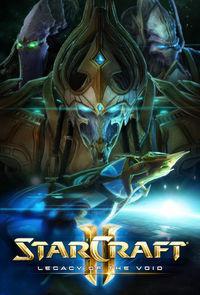 Portada oficial de StarCraft II: Legacy of the Void para PC