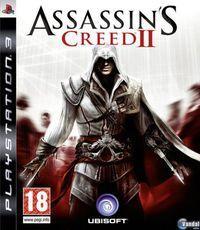 Portada oficial de Assassin's Creed 2 para PS3