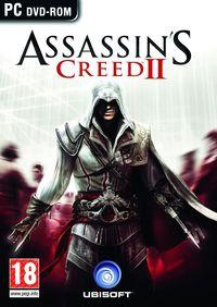 Portada oficial de Assassin's Creed 2 para PC