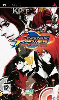 Portada oficial de King of Fighters Collection: The Orochi Saga para PSP
