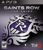 Portada oficial de Saints Row: The Third para PS3