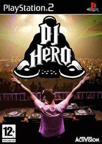 Portada oficial de DJ Hero para PS2