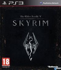 Portada oficial de The Elder Scrolls V: Skyrim para PS3