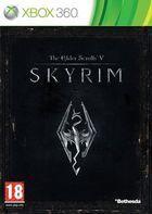 Portada oficial de The Elder Scrolls V: Skyrim para Xbox 360