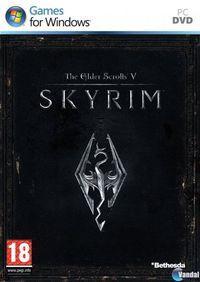 Portada oficial de The Elder Scrolls V: Skyrim para PC