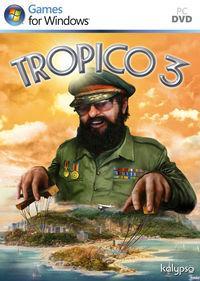 Portada oficial de Tropico 3 para PC