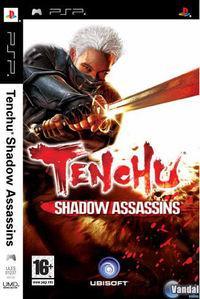 Portada oficial de Tenchu: Shadow Assassins para PSP
