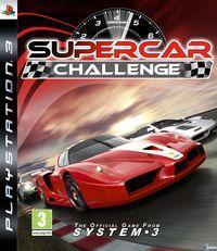 Portada oficial de SuperCar Challenge para PS3