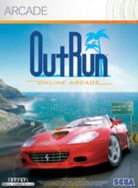 Portada oficial de OutRun Online Arcade XBLA para Xbox 360