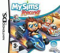 Portada oficial de MySims Racing para NDS