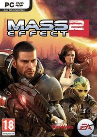 Portada oficial de Mass Effect 2 para PC