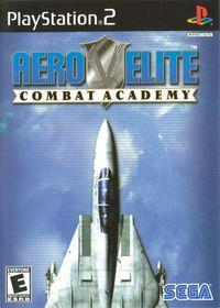 Portada oficial de Aero Elite Combat Academy para PS2