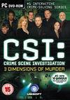 CSI: 3 Dimensions of Murder para Ordenador