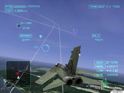 Ace Combat 4 aterriza en LA
