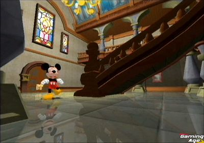 Mickey se muestra en GameCube