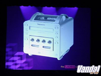 Primera imágen del DVD-Gamecube