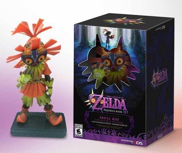Estados Unidos también tendrá una edición coleccionista de The Legend of Zelda: Majora's Mask 3D