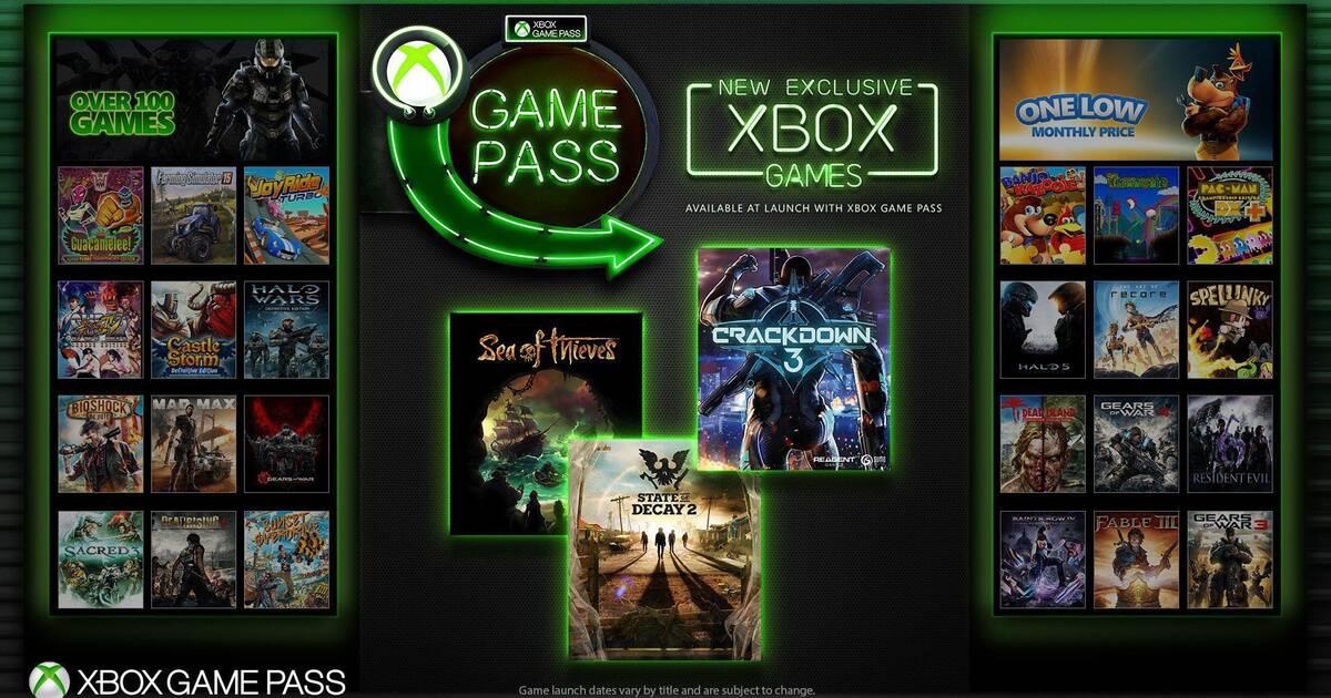 Los Juegos Exclusivos De Xbox One Llegaran A Xbox Game Pass En Su