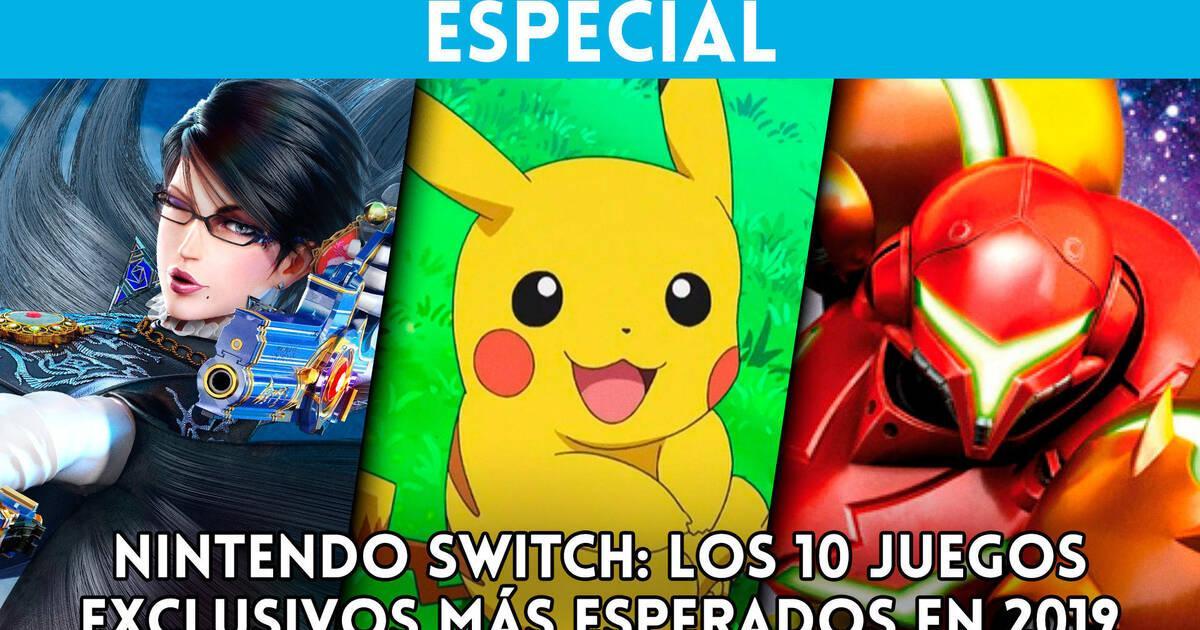 Los 10 Juegos Exclusivos Mas Esperados De 2019 En Nintendo Switch