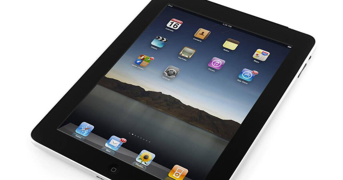 El primer iPad fue presentado hace 10 años