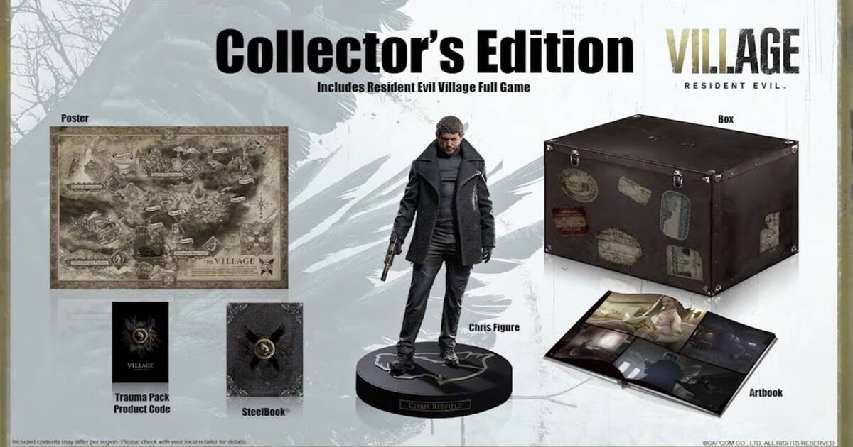 Resident Evil 8 Village: Así es la Edición coleccionista que cuesta 220  dólares - Vandal