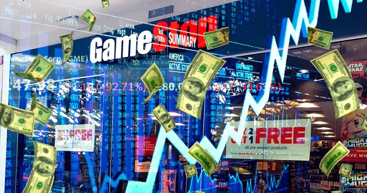 Las acciones de GameStop se disparan a máximos históricos por un grupo de Reddit
