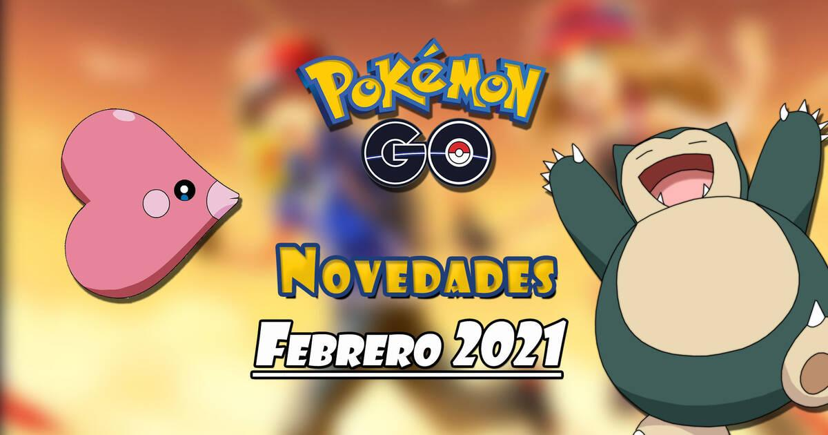 Pokémon Go en febrero de 2021.