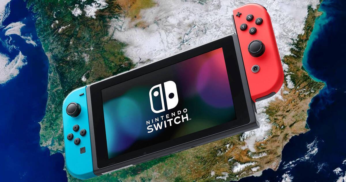 Switch fue la consola más vendida en España en 2020 con más de medio millón de unidades