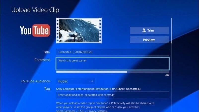 Ya está disponible la aplicación de YouTube para PS4