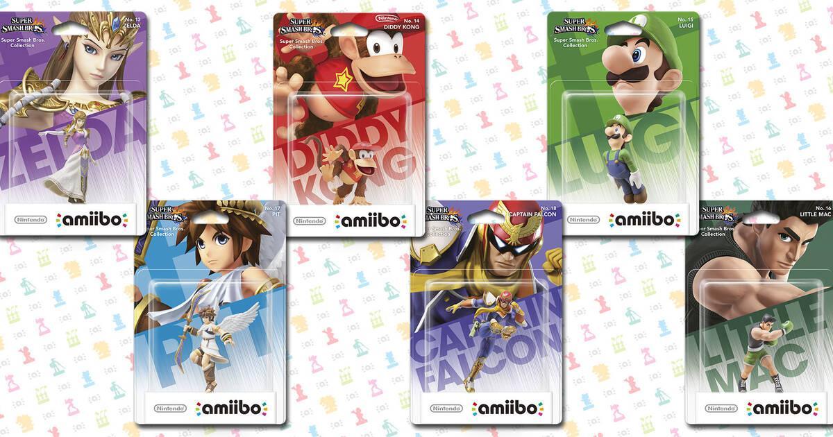 Nintendo desvela todas las claves sobre las figuras Amiibo