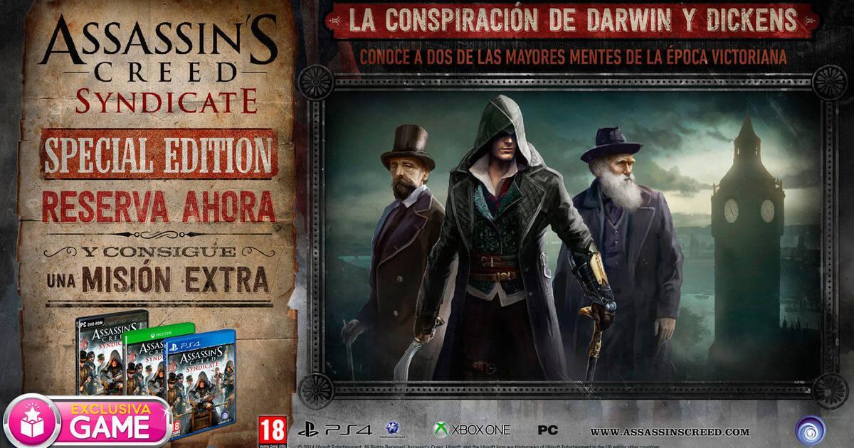 GAME detalla sus ediciones especiales de Assassin's Creed Syndicate