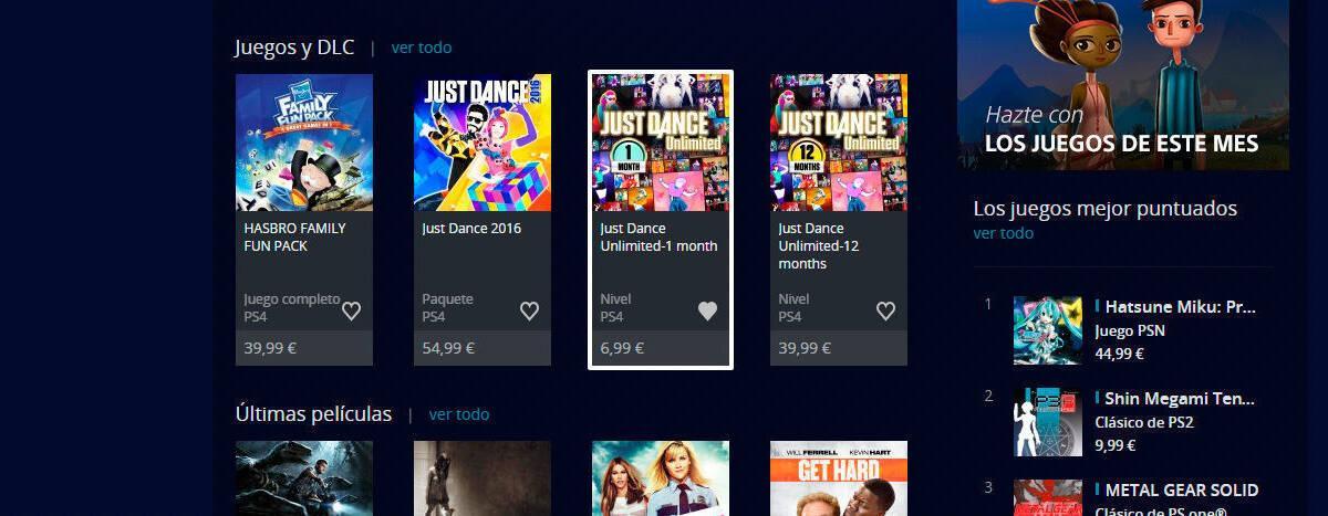 Playstation Store Anade Listas De Juegos Deseados Vandal