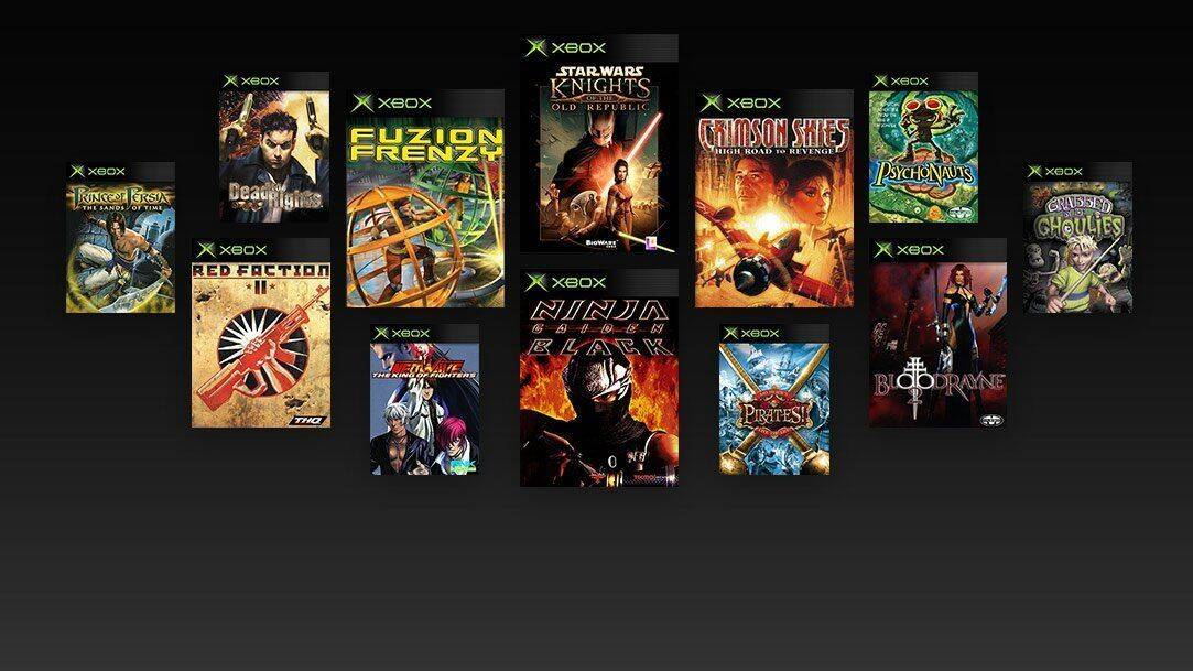 Filtrada Una Lista De Los Primeros Retrocompatibles De Xbox En Xbox