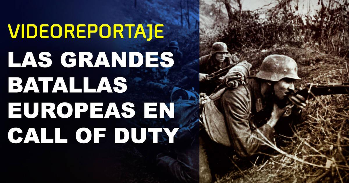 Las grandes batallas europeas en la saga Call of Duty