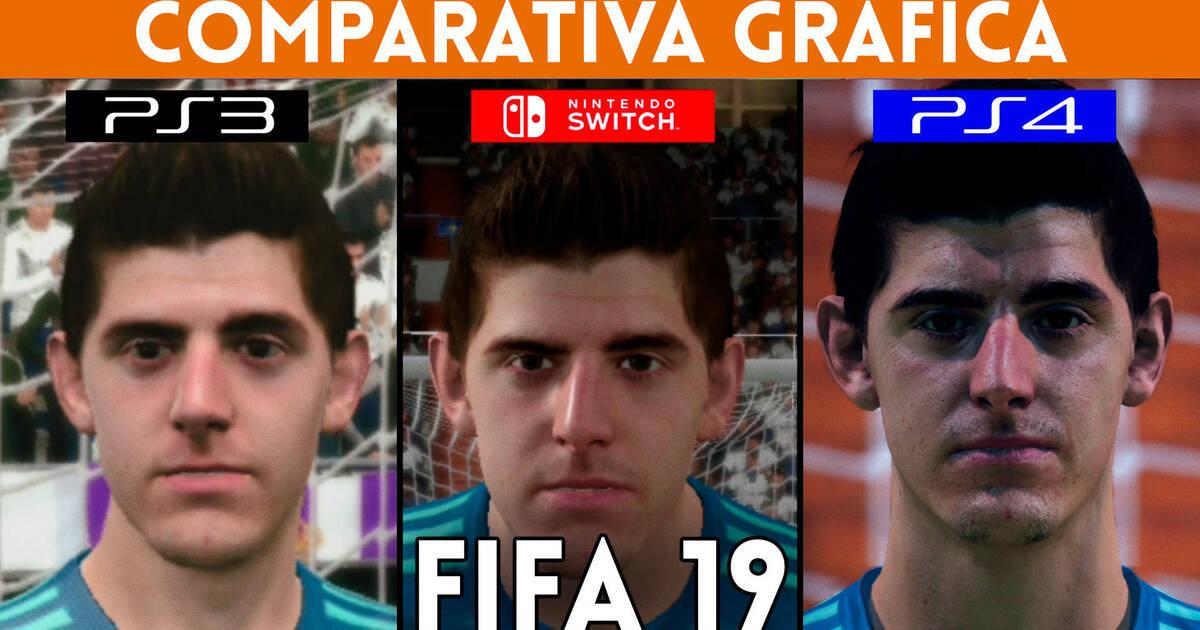 Comparativa Grafica Fifa 19 En Ps3 Nintendo Switch Y Ps4 Vandal